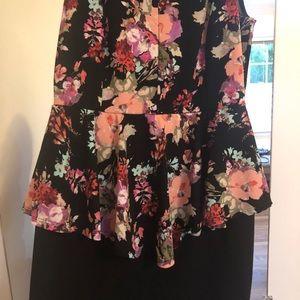 Fashion to figure size XL or 14 tulip dress
